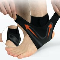 Wholesale adjustable ankle support resale online - Adjustable Ankle Support Brace Foot Sprains Injury Pain Wrap Guard Protector Ankle Support Foot Brace Guard Sports Shin Protector Feet
