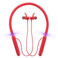 auriculares bluetooth cuello al por mayor-Original 100% Bluedio Auriculares KN Reducción de ruido activa Montado en el cuello 4.2 Auriculares Bluetooth Mini Bluetooth Auriculares inalámbricos Auriculares para auto