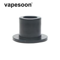 бесплатная доставка капельные советы оптовых-VapeSoon Balck POM Drip Наконечник для VAPE PEN 22 Kit E Cig VAPE Drip Tip Бесплатная доставка