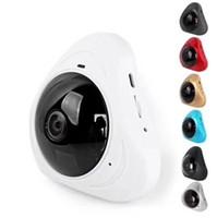 cámara ip wifi mp al por mayor-HD 960P Cámaras IP inalámbricas de 360 grados Visión nocturna Cámara Wifi Cámara de red IP CCTV Cámara de seguridad para el hogar Monitor de bebé 1920 * 960P 2CUHS0613