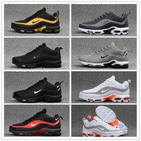Wholesale air running 95 resale online - 2020 New Arrival AIR MAX PLUS TN Men s Running Shoes Mercurial Tn plus Cushioning Sneakers Men Breathable Shoes EUR40