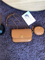 Wholesale open box phones for sale - Group buy Hot women wallet handbag designer luxury bag Coin Purse genuine leather card holder star AS1094 Cha size cm with box