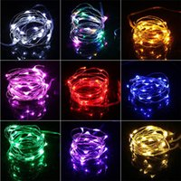 ingrosso 2m luci di fata in rame-Luci di Natale 2M Impermeabile in rame mini Fairy String Light Fairy Lights Fai da te Bottiglia di vetro artigianale LED String Lights