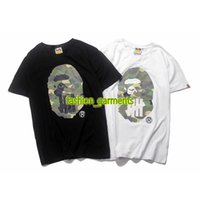 Wholesale Skateboard - Fashion Mens Tide Brand Undefeated Short Sleeve Hip Hop Europe and America Undefeated Joint Short Sleeve Mens Designer Skateboard T-Shirt