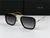 Wholesale classic sunglasses for men resale online - Top quality sun glasses classic for men women popular mens sunglasses fashion summer style men sunglasses UV400 eyewear come with Case