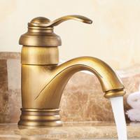 robinets d'eau en laiton antique achat en gros de-6