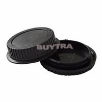 cámara guardián al por mayor-Tapa del cuerpo de la cámara Tapa posterior de la lente para CANON EF Lente de la cámara Proteger Titulares Titular para la venta