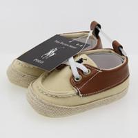 kumaş ayakkabı bebekler toptan satış-Sıcak Satış Bebek Ayakkabı Pamuk Kumaş Yenidoğan Erkek İlk Walker Ayakkabı Dantel-Up Bebek Prewalker Sneakers Ayakkabı