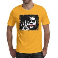 palhaço do batman camiseta venda por atacado-Filmes batman the dark cavaleiro joker Mens T-Shirts Fit Sports Algodão de Manga Curta Camisas Homem Engraçado Camiseta Moda Camisas de T para o Homem
