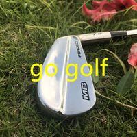 eisen golf mb großhandel-Hochwertige Golfeisen 718 MB geschmiedete Eisen (3-P) 8pcs / set mit Dynamic Gold S300-Stahlwellen
