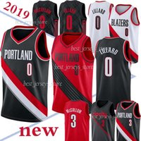 Wholesale hot cotton sportswear for sale - Group buy 0 Damian Lillard jersey Mccollum new Basketball jerseys men Hot sale Jersey sportswear