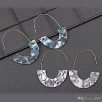 Wholesale acrylic sheeting for sale - Group buy U Shape Leopard Eardrop Styles Acrylic Acetate Sheet Ladies Drop Earrings Fashion Jewelry Party Favor xy E1