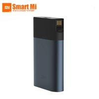 wifi taşınabilir güç bankası toptan satış-Güncelleme Xiaomi zmi mf885 Akıllı 4G Router güç bankası 3G 4G LTE Kablosuz Taşınabilir WiFi Hotspot 10000 mAh QC2.0 Hızlı Şarj Pil