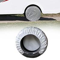 ingrosso accessori universali per camion-4 pezzi accessori auto universale addensare borsa portatile anti UV furgoni protezioni parti antipolvere camion ruote coperture pneumatici durevoli
