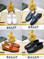 los mejores zapatos de boda de tacón bajo al por mayor-Mejores hombres de cuero de vaca de conducción formal Zapato de la boda vestido de oficina con cordones mocasines de tacón bajo bordado Tamaño 38-45