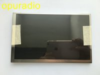 vcd ekranı toptan satış-Ücretsiz kargo Yeni orijinal AUO 7 inç LCD ekran C070VW02 V0 Roewe 550 Peugeot 508 için ekran paneli araba GPS LCD monitör