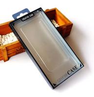 limpar telas de janela venda por atacado-Pacote de varejo vazio caixa de plástico PVC embalagem para iphone xs max