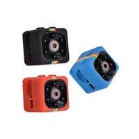 kızılötesi gece görüşü hd dvr toptan satış-2019 Yeni SQ11 Mini Kamera HD 1080 P Gece Görüş Kamera Araba DVR Kızılötesi Video Kaydedici Spor Dijital Kamera Desteği TF Kart ücretsiz DHL