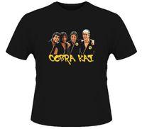 cobra t-shirt achat en gros de-Cobra Kai T-shirt
