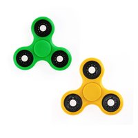 fileur en plastique achat en gros de-EN STOCK HandSpinner Doigts Spirale Doigts Fidget Spinner EDC Spinner à la main Acrylique Plastique Fidgets Jouets Gyro Toys avec Boîte de vente