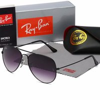 045e5f499ed37 Wholesale ray bans online - High quality Polarized lens pilot Fashion  Sunglasses For Men and Women