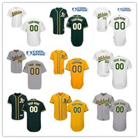 Wholesale any size resale online - 2019 Custom Oakland men women kids Jerseys Customized Personalized Stitched Athletics Jersey Any Name Any Number shirts Size S XL
