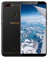 fhd ekran android telefonu toptan satış-Orijinal Nubia N3 4G LTE Cep Telefonu 4 GB RAM 64G ROM Snapdragon 625 Octa Çekirdek Android 6.01