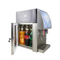 смешивание напитков оптовых-3 клапана безалкогольных напитков кокс для напитков пост микс диспенсер торговый автомат кола