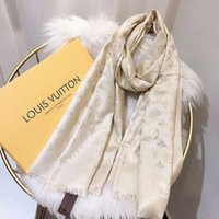 xale de algodão branco preto venda por atacado-2019 designer de marca de moda clássico lenços de seda top fashion senhora de alta qualidade lenços de seda