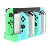Wholesale nintendo chargers resale online - iPega PG Game Controller Charger Charging Dock Stand Station Holder for Nintendo Switch Joy Con Game Console with Indicator