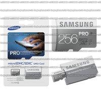 sdhc memory 16gb venda por atacado-16GB / 32GB / 64GB / 128GB / 256GB Samsung PRO cartão micro SD Class10 / Tablet PC TF cartão C10 / cartão de memória / SDXC / SDHC 90MB / S
