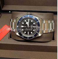 продавец бокса оптовых-6 Цвет роскошные часы автоматическая Her1tage Black Bay 79220 Hol продавец luxury Box документы мужские часы мужские часы высокое качество