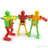 spielzeug elektrowerkzeuge großhandel-360 ganze grad Uhrwerk Wind Up Elektrowerkzeuge Tanzen Roboter brinquedos kinder spielzeug RC Roboter Fernbedienung Linie Lustige rc rock crawler Geschenke