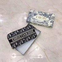 yeni styling ladies cüzdanlar toptan satış-kutusu ucuz pazarlama 2019 yeni stil popüler markalar kadın moda tuval cüzdan Yüksek kaliteli bayan Çanta Tasarımcılar luxurys cüzdanlar (