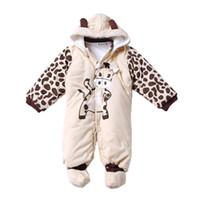 8031d47bd0a Autumn Winter Baby Boy Girl Hat Rompers Shoes Sets Newborn Layette Kids  Clothes Suit Casual Tracksuit Jumpsuit Children Clothing