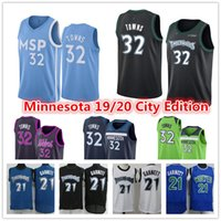 Wholesale garnett jerseys for sale - Group buy Mens Minnesota Timberwolves Jersey Karl Anthony Towns Kevin Garnett Andrew Wiggins City Blue Edition Basketball Jerseys