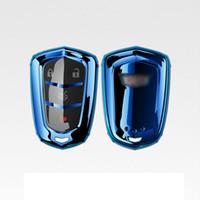 cas à distance pour les voitures achat en gros de-Brevet TPU Car Auto Remote Key Shell Couverture Shell pour Cadillac CTS XTS ATS ATS-L XLS SRX Accessoires De Voiture Styling