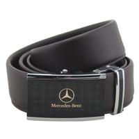 роскошный мужской ремень оптовых-Mercedes Benz Alloy Luxury Belt Автоматическая пряжка Ширина 3-4 см. Длина 130 см. Пояс, чем из натуральной кожи.