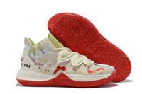новые мальчики в баскетбольной обуви оптовых-2019 новые мальчики дети Kyrie V Lucky Charms Shoes Sales Ирвинг 5 мужской баскетбол 5s обувь молодежные девушки женщины размер US4-US12