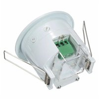 Wholesale ceiling motion sensors for sale - Group buy 360 Degree Mini InfraredS PIR Detections IRS Ceiling WallS Recessed Motion Sensor Detector Auto Light Switch