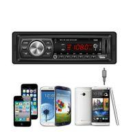 araba mp3 usb sd mmc toptan satış-En Araç Cihazlar için 2019 Yeni MultifunctionIn Dash Araç Ses Bluetooth Stereo Kafa Birimi MP3 / USB / SD / MMC