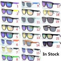 шлем оптовых-22 цвета KEN BLOCK HELM Красочные светоотражающие солнцезащитные очки для велоспорта Спортивные ослепительные солнцезащитные очки для женщин Мужские очки GGT001