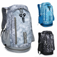 ingrosso marche borse mens-Brand New Kobe Basket Backpack Zaino leggero a grande capacità Schoolbags Mens Womens Color Matching Outdoor Packs Designer Bags