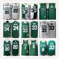 paul pierce toptan satış-Retro Erkek 33 Larry Bird