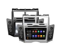 yaris gps al por mayor-6.2 '' Android 9.0 Car DVD Player GPS para Yaris 2005-2011 octa 8 core 4G RAM 64G ROM px6 RADIO ESTÉREO NAVEGACIÓN