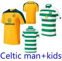 novos uniformes marrons venda por atacado-19 20 MCGREGOR GRIFFITHS Camisas De Futebol Novo Celtic SINCLAIR FORREST MARROM ROGIC CHRISTIE Home Man + crianças Camisas de Futebol de Manga Curta Uniformes