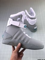 Wholesale mag outdoor resale online - With light Mag High top shoes running shoes men outdoor shoes male female Versatile casual shoe Sneakers for men and women EUR