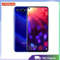 Wholesale smartphone tri sim card android for sale - Group buy Factory Unlocked Original Huawei Honor View Smartphone Honor V20 Android GB RAM GB ROM Support NFC fast charge Mobile Phone