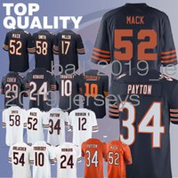 Bears jerseys 52 Khalil Mack 10 Mitchell Trubisky 34 Walter Payton 39 Eddie  Jackson Roquan 58 Smith jerseys 353021928