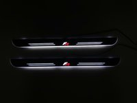 Wholesale car door sill led lights resale online - eOsuns Customized LED dynamic moving door scuff door sill light overlays linings for SEAT ATECA